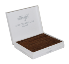 Davidoff Mini Cigarillos Silver Box of 20